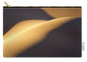 Texture Pattern On Sand Dunes Carry-all Pouch