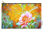 Textured Dahlia Perfection Carry-all Pouch