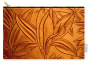 Textured Flower3 Carry-all Pouch