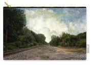 Textured Landscape Carry-all Pouch