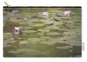 Textured Lilies Image  Carry-all Pouch
