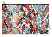 Textured Structural Abstract Carry-all Pouch