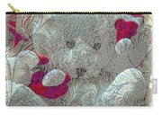 Textured Teddy Carry-all Pouch