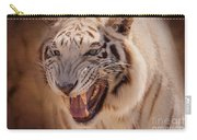 Textured Tiger Carry-all Pouch