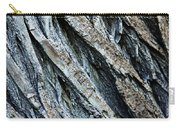 Textured Tree Bark Carry-all Pouch