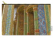 Thai-khmer Pagoda At Grand Palace Of Thailand In Bangkok Carry-all Pouch