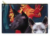 Thai Ridgeback Art Canvas Print - The Enforcer Movie Poster Carry-all Pouch