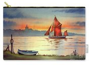 Thames Barge At Maldon Essex Carry-all Pouch