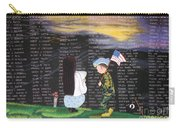 Thank You Again Hand Embroidery Carry-all Pouch