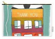 Thank You Card Carry-all Pouch