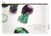 Thank You - Gratitude Rocks By Sharon Cummings Carry-all Pouch by Sharon Cummings