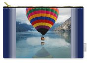 Thank You Hot Air Balloon In Alaska Carry-all Pouch