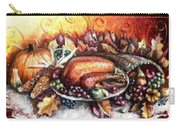Thanksgiving Dinner Carry-all Pouch by Shana Rowe Jackson