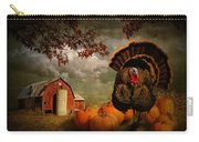 Thanksgiving Turkey Among Pumkins Carry-all Pouch