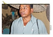 Tharu Chitwan National Park Naturalist In Tharu Village In Nepal  Carry-all Pouch