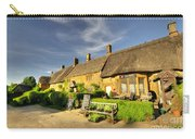 Thatched Cottages At Great Tew  Carry-all Pouch