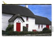 Thatched Roof House Carry-all Pouch