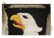The 101st Airborne Division Emblem Carry-all Pouch