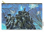 The 107th Infantry Memorial Sculpture Carry-all Pouch