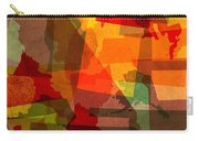 The Abstract States Of America Carry-all Pouch by Design Turnpike
