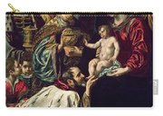 The Adoration Of The Magi, 1620 Oil On Canvas Carry-all Pouch