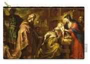 The Adoration Of The Magi Carry-all Pouch by Orazio de Ferrari
