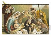 The Adoration Of The Shepherds Carry-all Pouch by English School