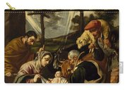The Adoration Of The Shepherds Carry-all Pouch