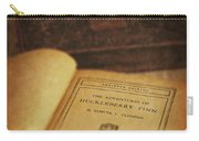 The Adventures Of Huckleberry Finn Carry-all Pouch by Edward Fielding