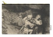 The Agony In The Garden Carry-all Pouch by Rembrandt