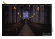 The Aisle Of Princeton Chapel Carry-all Pouch