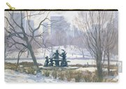 The Alice In Wonderland Statue, Central Park, New York Carry-all Pouch