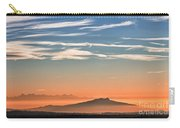 The Alps Sunset Over Fog Carry-all Pouch