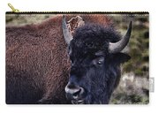 The American Bison Carry-all Pouch