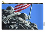 The American Flag Atop Mount Suribachi -- The Iwo Jima Memorial Carry-all Pouch