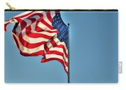The American Flag No Retreat No Surrender  Carry-all Pouch