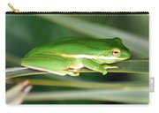 The American Green Tree Frog Carry-all Pouch