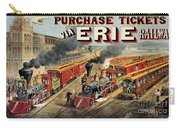 The American Railway Scene  Carry-all Pouch by Currier and Ives