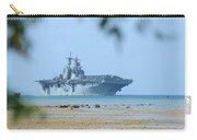 The Amphibious Assault Ship Uss Boxer  Carry-all Pouch