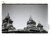 The Ancient Stupas Of Borobudur Carry-all Pouch