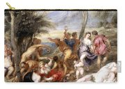The Andrians A Free Copy After Titian Carry-all Pouch