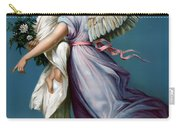 The Angel Of Peace Carry-all Pouch