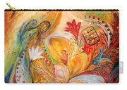 The Angels On Wedding Triptych - Left Side Carry-all Pouch