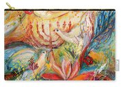 The Angels On Wedding Triptych - Right Side Carry-all Pouch