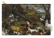 The Animals Entering Noah's Ark Carry-all Pouch