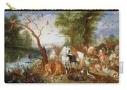 The Animals Entering Noahs Ark Panel Carry-all Pouch