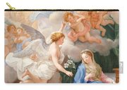 The Annunciation Carry-all Pouch by Giovanni Odazzi