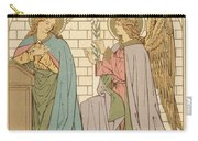The Annunciation Of The Blessed Virgin Mary Carry-all Pouch by English School