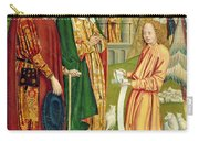 The Annunciation To Joachim And Anne, From The Dome Altar, 1499 Carry-all Pouch
