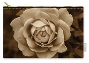 The Antique Rose Flower Carry-all Pouch